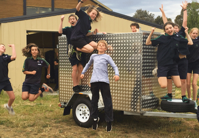 New trailer for Pittwater Scouts