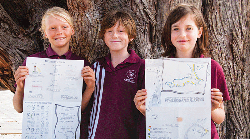 Young writers capture history of South Arm Peninsula