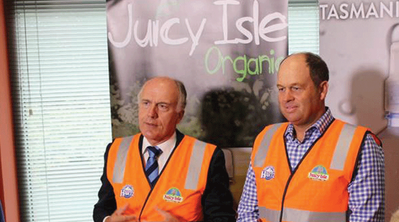 Factory expansion 'juicy' news for local economy