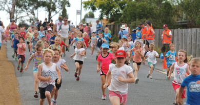 Youngsters gear up for annual triathlon