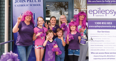 Students go purple for epilepsy awareness
