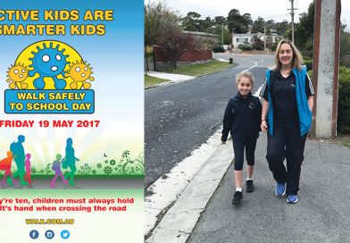 Parents urged to make National Walk Safely to School Day an everyday habit