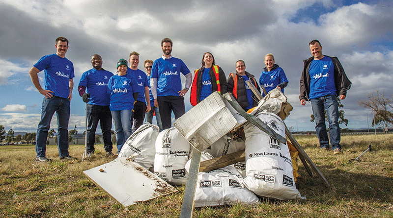 Company clean up makes positive difference