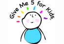 Kick a goal for Give Me 5 for Kids