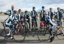 Cyclists take to the tarmac