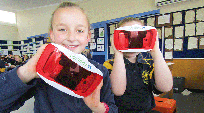 Virtual reality learning for Montagu Bay Primary