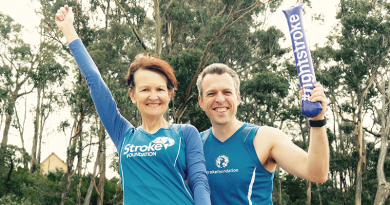 Striding to reduce the risk of stroke