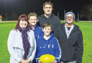 Lindisfarne Footy Club kicking cancer for Alex