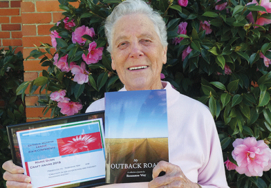 Outback travels inspires local's latest poetry book