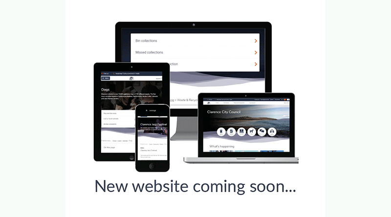 New website for Clarence City Council has launched