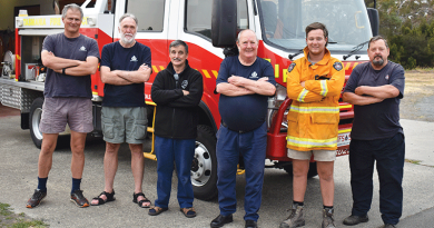 Local firefighters recognised for hard work