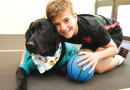 Grady provides bark for children's therapy